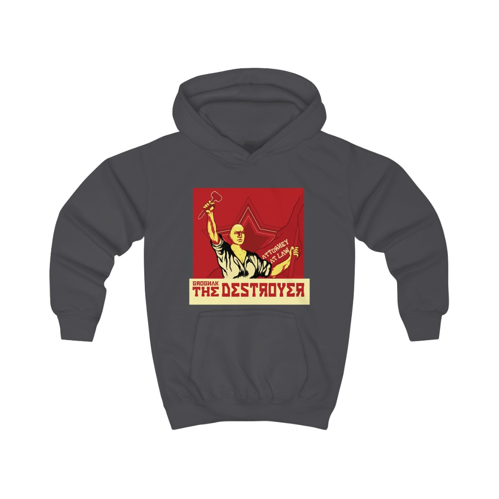 KIDS Grognak The Destroyer, Attorney at Law Hoodie