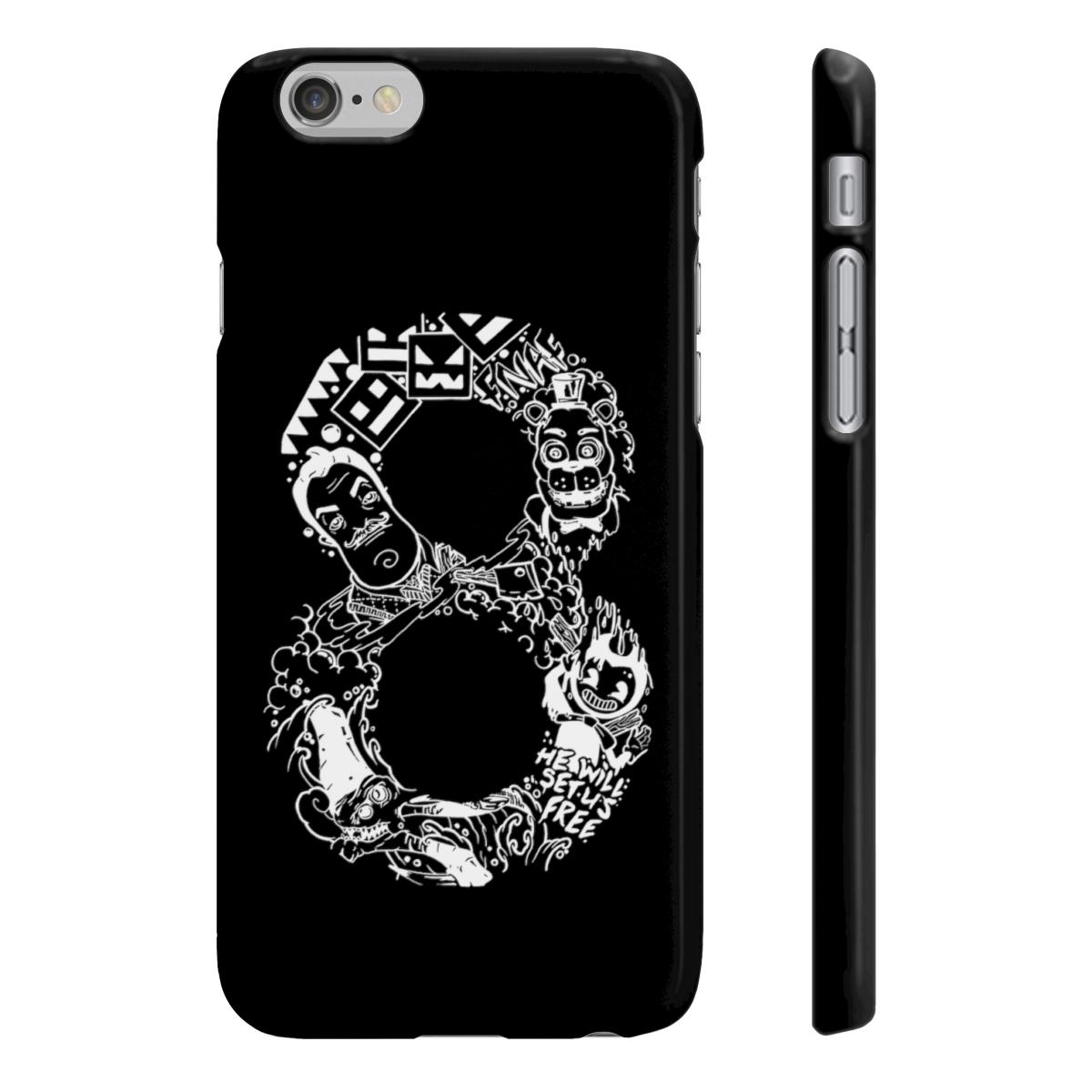 8Bit Phonecase - Black