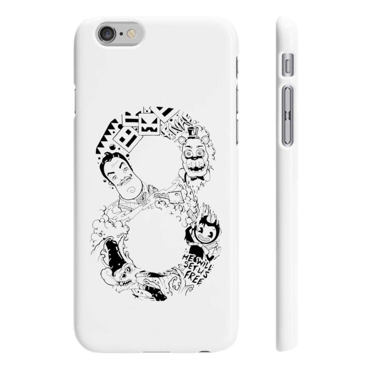 8Bit Phonecase - White