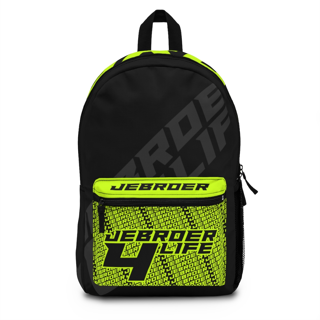 Jebroer 4 Life Backpack Black