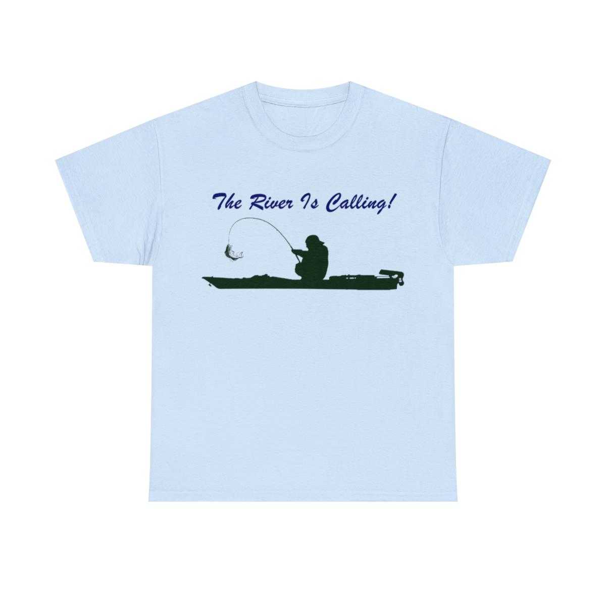 The-River-Is-Calling-Kayak-Fishing-Unisex-Heavy-Cotton-Shirts thumbnail 7