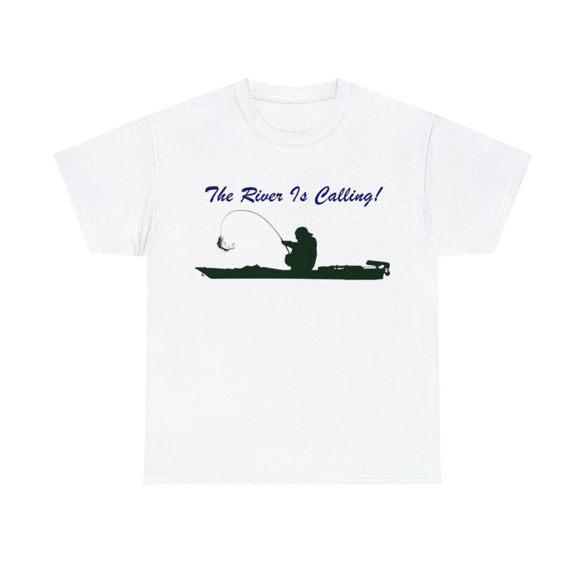 The-River-Is-Calling-Kayak-Fishing-Unisex-Heavy-Cotton-Shirts thumbnail 3