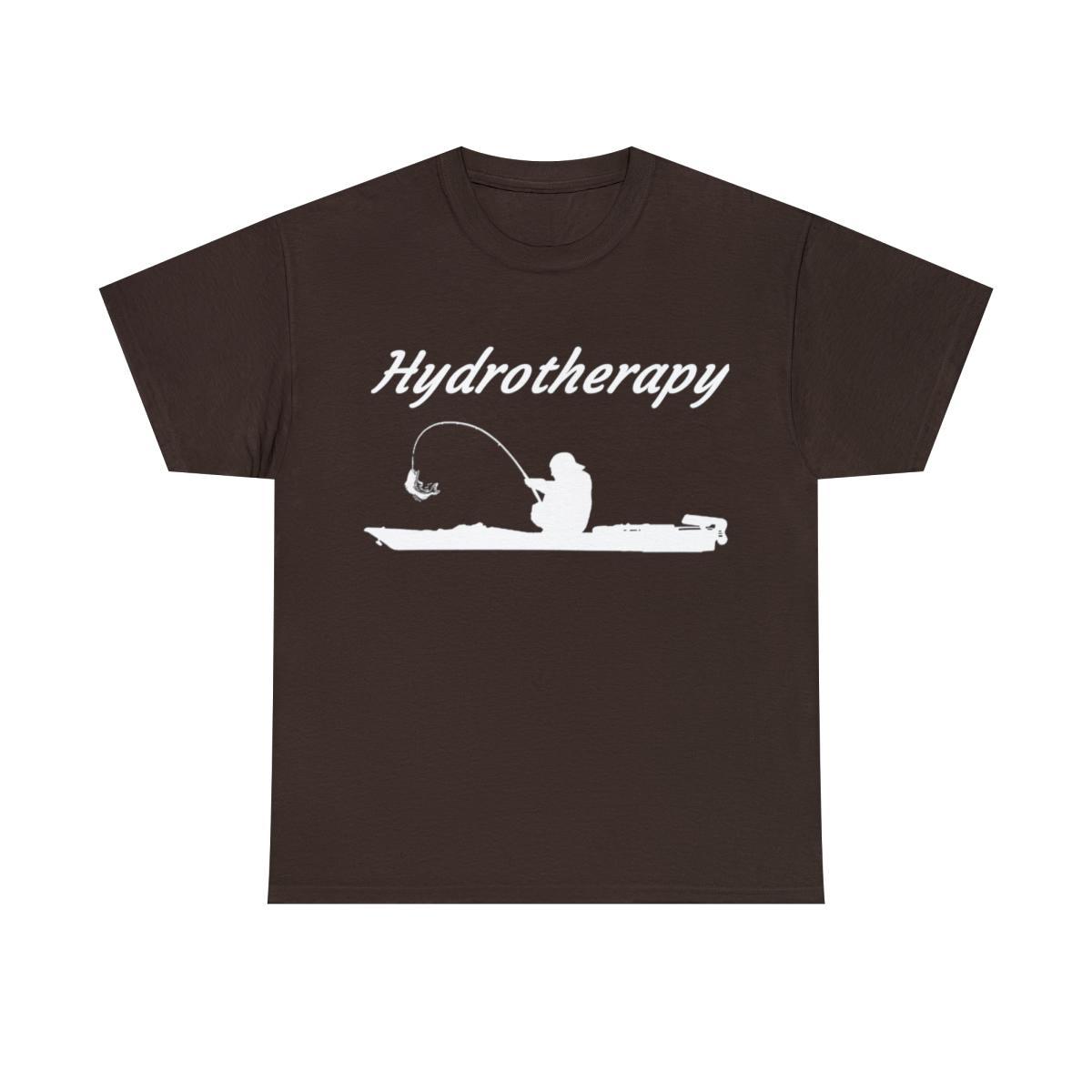 Hydrotherapy-Kayak-T-Shirt-Kayak-Fishing-Unisex-Heavy-Cotton-T-Shirt thumbnail 11