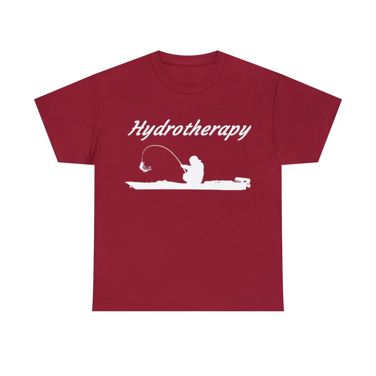 Hydrotherapy-Kayak-T-Shirt-Kayak-Fishing-Unisex-Heavy-Cotton-T-Shirt thumbnail 17