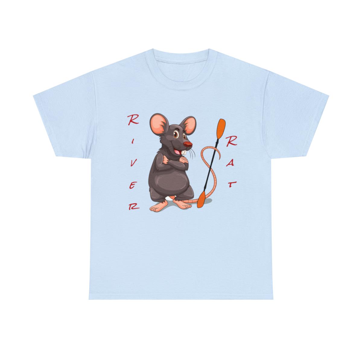 Happy-River-Rats-Kayak-T-Shirt-Unisex-Heavy-Cotton-Tee thumbnail 3