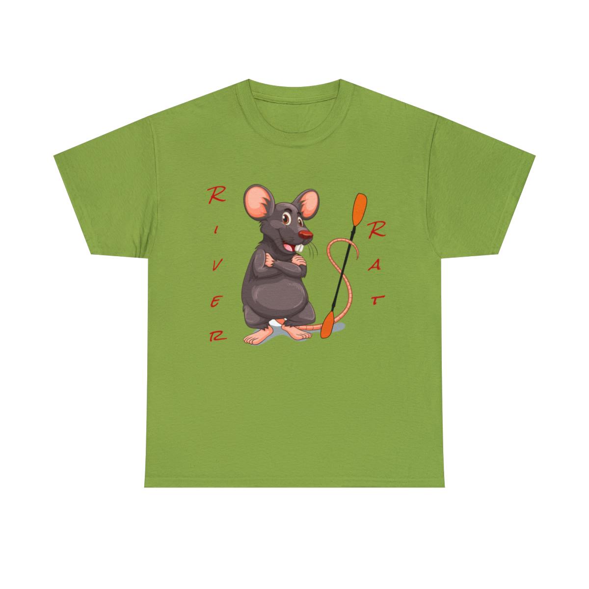 Happy-River-Rats-Kayak-T-Shirt-Unisex-Heavy-Cotton-Tee thumbnail 9